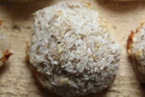 Gesunde Weihnachtsbäckerei_vegane Kokosmakronen_natürliche_gesüßt